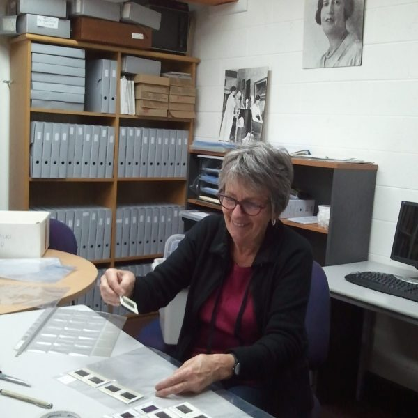 Our volunteer is working on the Women's Art Register Slide Preservation Project, conserving our archive for future generations, and improving access to our collection for research and education.