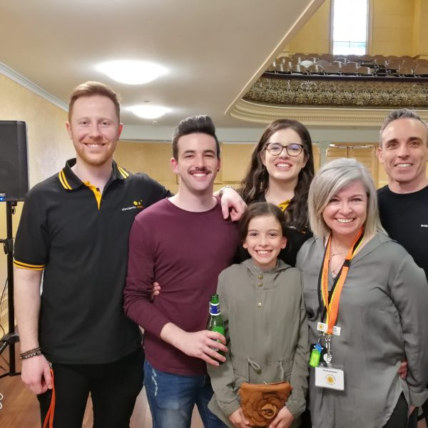 "The entire Inglese Family volunteered to produce our ""More than skin deep"" Fashion Parade at the Collingwood Town Hall in October 2019. Between them they performed the roles of: Event Co-ordinator, Model, Stage Manager, Model Assistant and Audio-Visual Co-Ordinator."