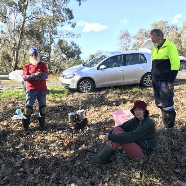 Restoring a very degraded Reedy Creek reserve