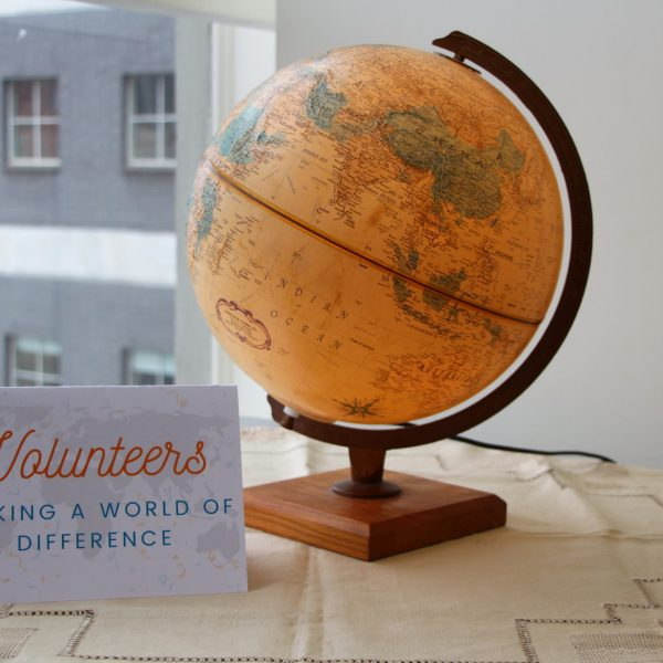 Volunteers - making a world of difference