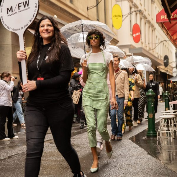 Melbourne Fashion Week volunteer
